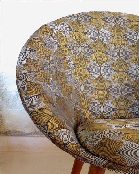 jacquardstof Bakary meubelstof gordijnstof decoratiestof interieurstof