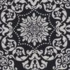 barok dubbeldoek zwartwit stof gordijnstof decoratiestof