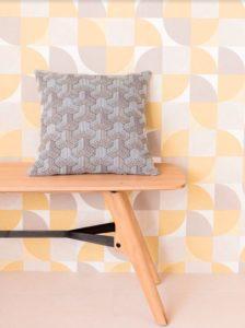 jacquardstof Boomerang Lin meubelstof gordijnstof decoratiestof