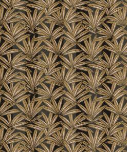 jacquardstof canopee or meubelstof gordijnstof stof met cannabis