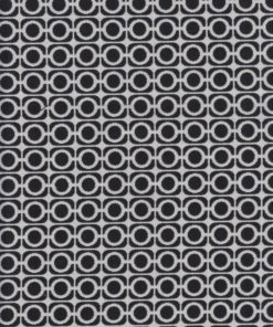 dubbeldoek zwartwit stof gordijnstof decoratiestof
