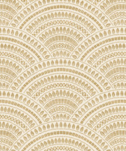 jacquardstof doré or blanc gordijnstof meubelstof stof met bogen