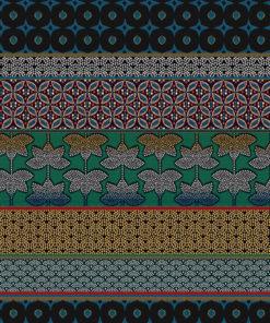 jacquardstof Doha Paon meubelstof gordijnstof decoratiestof interieurstof met Oosterse ornamenten