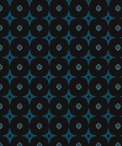 jacquardstof Emir Bleu meubelstof gordijnstof decoratiestof interieurstof