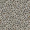 pantermotief katoenprint Fauve Ivoire katoenen printstof panterprint decoratiestof