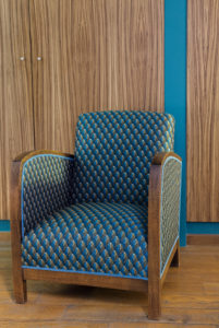 jacquardstof Gatsby fauteuil 1