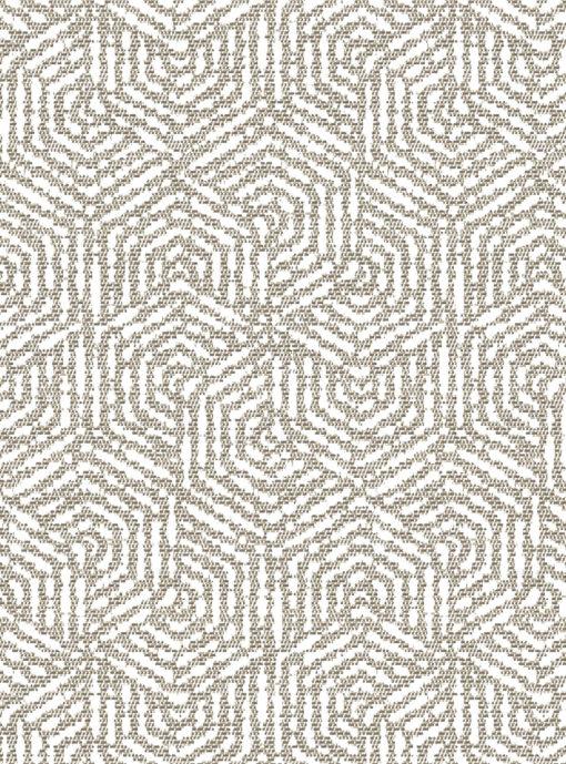 jacquardstof hexagone lin meubelstof gordijnstof stof met zeshoeken