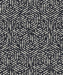 jacquardstof hexagone nuit meubelstof gordijnstof stof met zeshoeken