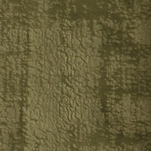 Illusion velours olive gordijnstof meubelstof decoratiestof