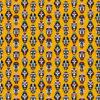 percale katoenprint Mask Jaune katoenen decoratiestof Inca maskers mondkapjes