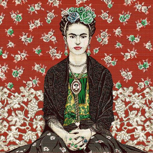 stofpanelen Frida Kahlo Magda jacquardstof