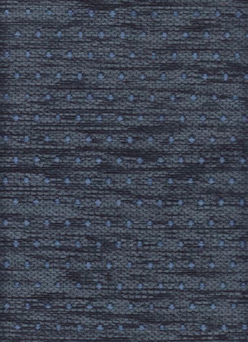 Jacquardstof Texel Blauw meubelstof