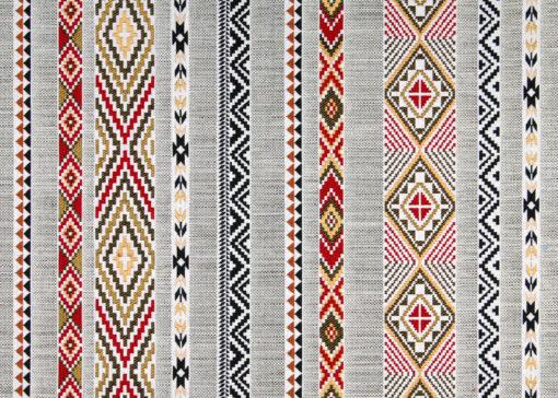 jacquardstof Navajo gold indianenstof meubelstof gordijnstof decoratiestof interieurstof