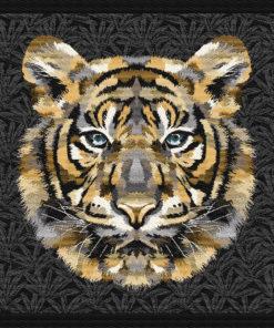 stofpanelen sherekahn or jacquardstof tijgerkop