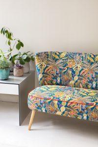 jacquardstof sumatra bankje meubelstof gordijnstof decoratiestof stof met vogels