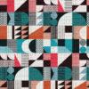 Jacquard stof Walter Paon retro meubelstof gordijnstof decoratiestof