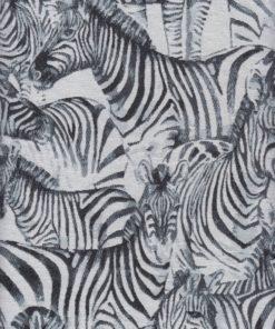 jacquardstof zebra meubelstof gordijnstof decoratiestof