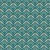 Jacquard stof Zephyr Green retro meubelstof gordijnstof decoratiestof