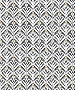 Jacquard stof Zephyr White retro meubelstof gordijnstof decoratiestof