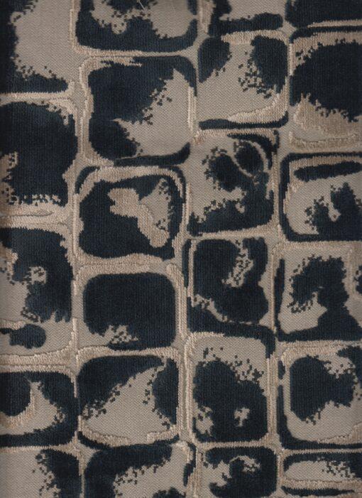 gobelinstof met blokken gordijnstof decoratiestof meubelstof