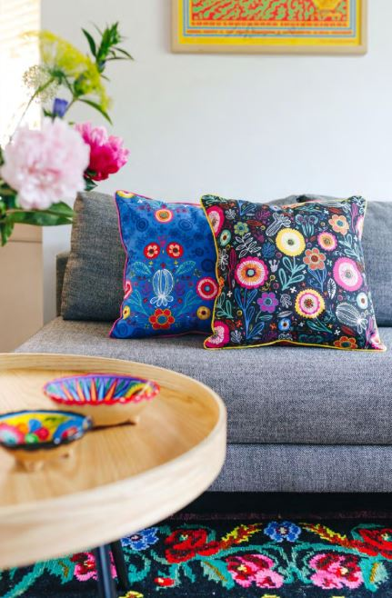 ottoman bloemenstof 192 en 193 voorbeeld