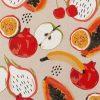 linnenlook Fruit stof met fruit decoratiestof 1.104530.1845.320
