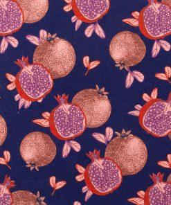 gordijnstof decoratiestof printstof ottoman stof met fruit 1.105030.1739.350